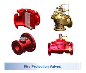 Cla-Val Fire Valves